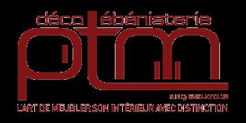 Logo Ébénisterie PTM